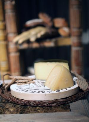 Cheese Station at Wedding
