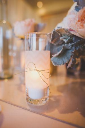 Chevron Inspired Wedding Decor