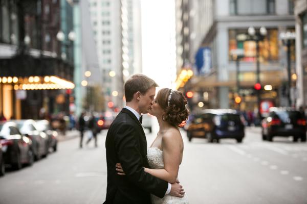 Chicago Loop Wedding Photos