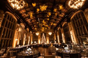 Christmas Ballroom Wedding
