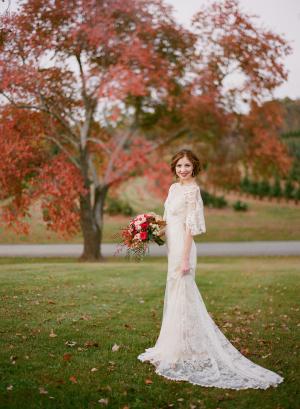 Classic Fall Bride