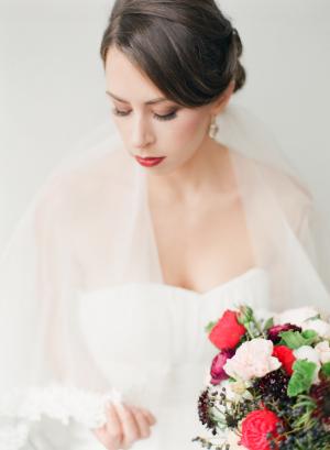 Classic Winter Bride