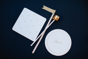 Cocktail Stirrers and Coasters
