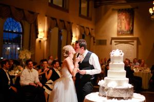 Cutting the Cake at Wedding