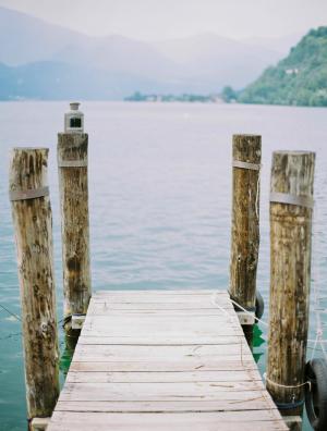 Dock Lake Orta
