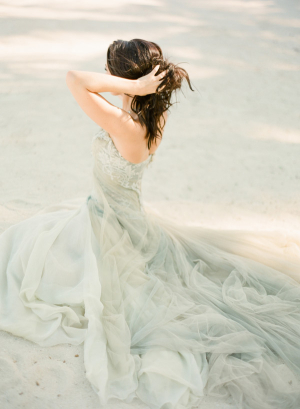 Elegant Beach Bridal Gown