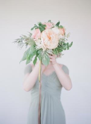 Elegant Bridesmaids Bouquet