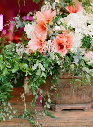 Elegant Floral and Greenery Arrangement