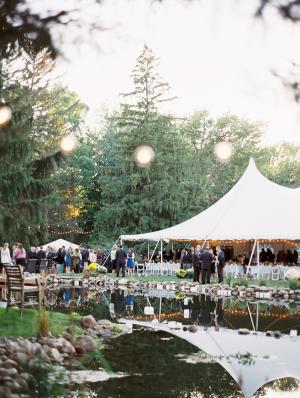 Elegant Outdoor Tent Reception
