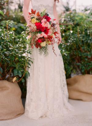 Elegant Red Bouquet