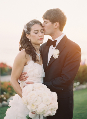 Elegant Wedding Portrait Caroline Tran