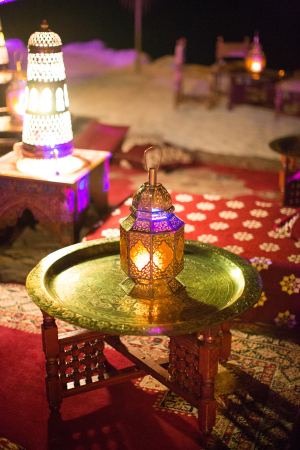 Exotic Lantern Wedding Lounge