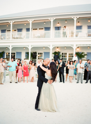 First Dance on Beach