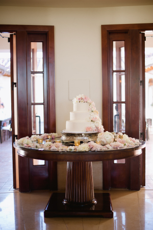 Floral Cake Table