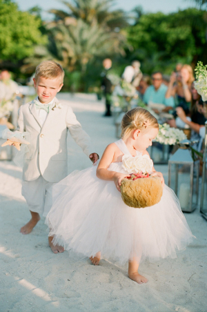 Flower Girl in Tulle