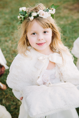 Flower Girl with Shawl