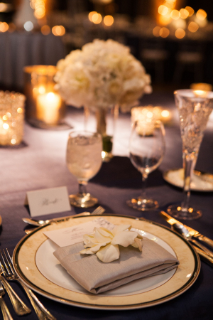 Flower at Place Setting