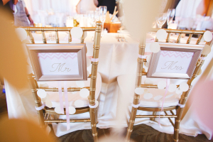 Gold Chiavari Reception Chairs