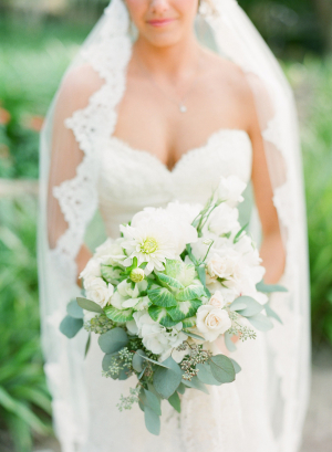 Gorgeous Green and White Bouquet