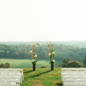 Gorgeous Outdoor Ceremony Location