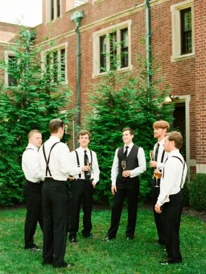 Groomsmen at NJ Wedding