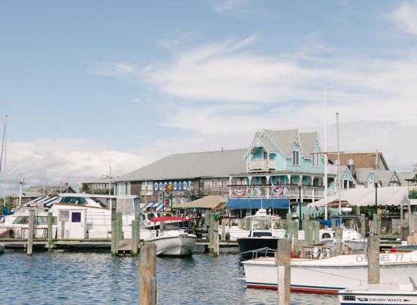 Harbor in Marthas Vineyard