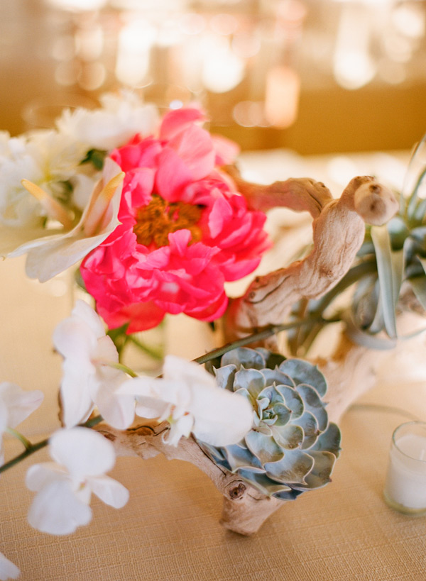Hot pink peony centerpiece elizabeth anne designs the