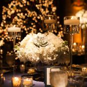 Hydrangea Succulent Centerpiece