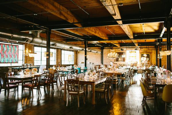 Industrial Wedding Venues in Chicago