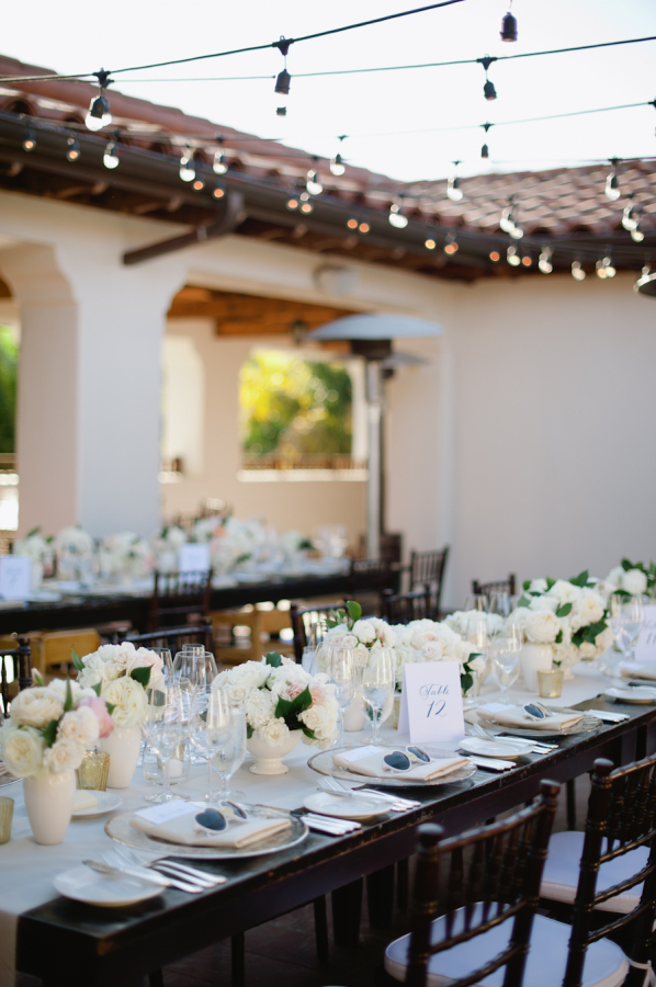 Ivory and Brown Reception
