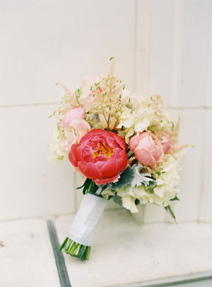 Ivory and Pink Bouquet1