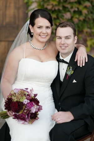 Julie Mikos Wedding Portrait