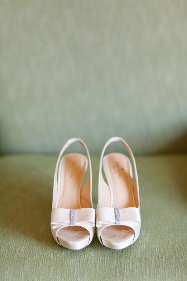 fea17959cb5 Kate Spade Bow Wedding Shoes - Elizabeth Anne Designs  The Wedding Blog