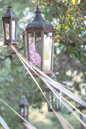 Lanterns with Ribbon