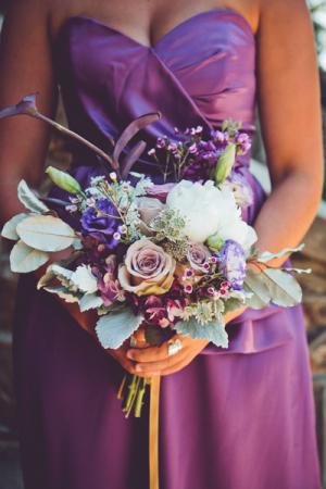 Lavender Wildflower Bouquet