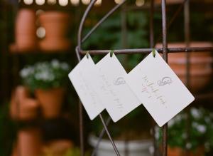 Letterpress Place Cards