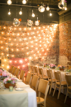 Loft Wedding Reception