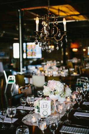 Modern Vintage Wedding Reception