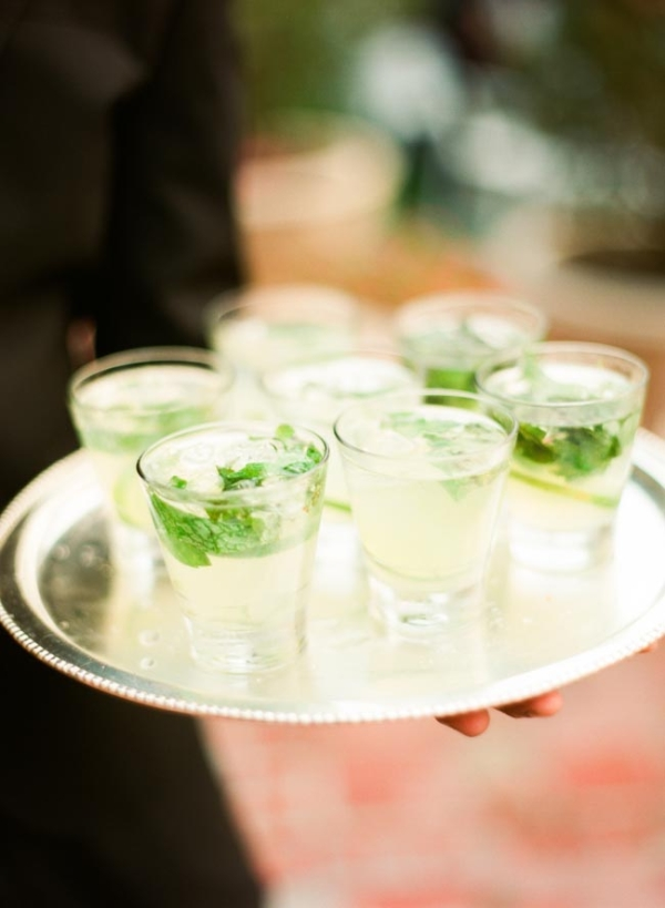 Mojitos Wedding Cocktails