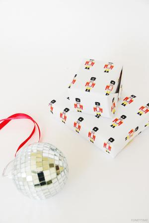 Nutcracker Gift Wrap