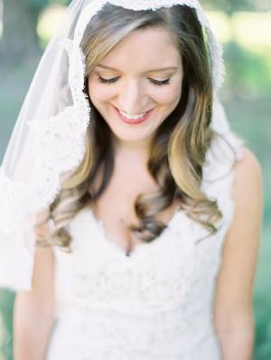 Ombre Highlights Bridal Hair