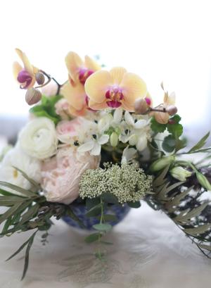 Organic Wedding Arrangement