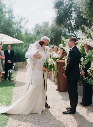 Outdoor Ojai Wedding Ceremony
