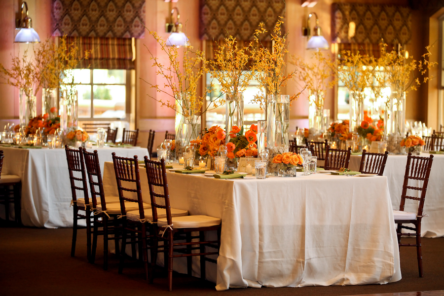 Park City Fall Wedding Decor