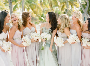 Pastel Purple Bridesmaids
