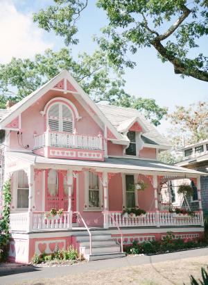 Pink House Marthas Vineyard