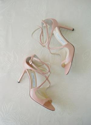 Pink Jimmy Choo Shoes