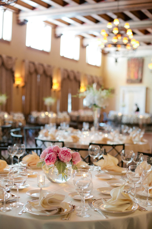 Pink and Ivory Reception