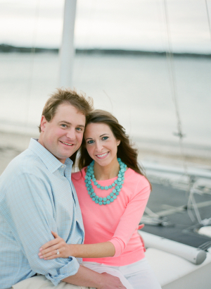 Preppy Nautical Engagement Session
