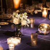 Purple Linens for Wedding